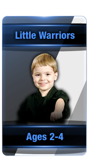 L.I. Ninjutsu Centers little warriors button