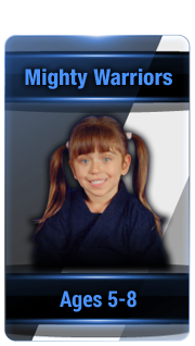 L.I. Ninjutsu Centers mighty warriors button